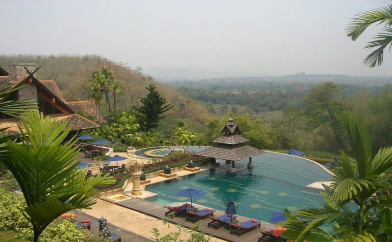 Anantara Golden Triangle Elephant Camp & Resort–Thailand