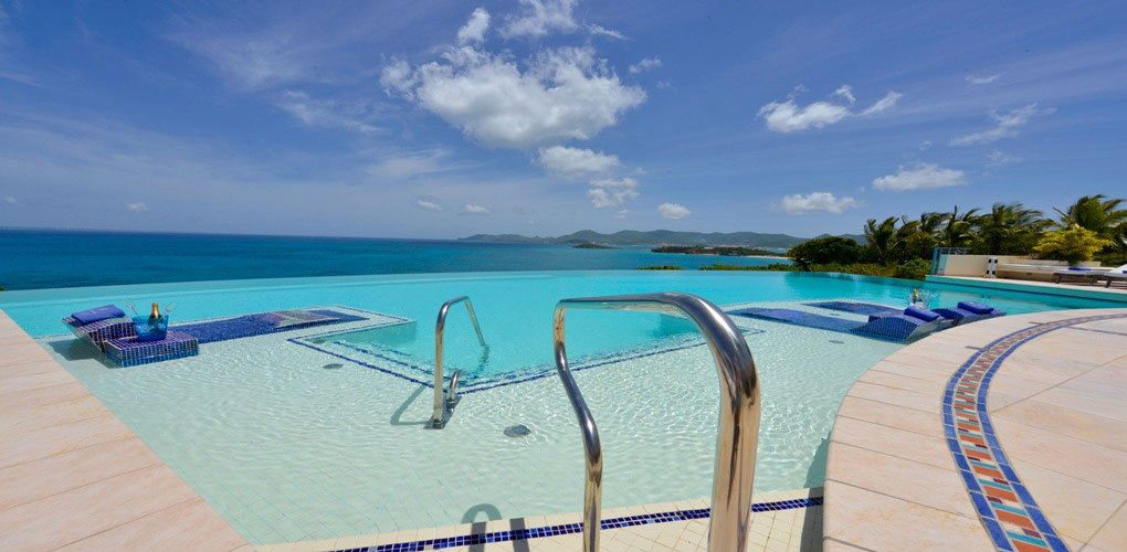 Mes Amis Resort Pool – St. Martin, French Caribbean