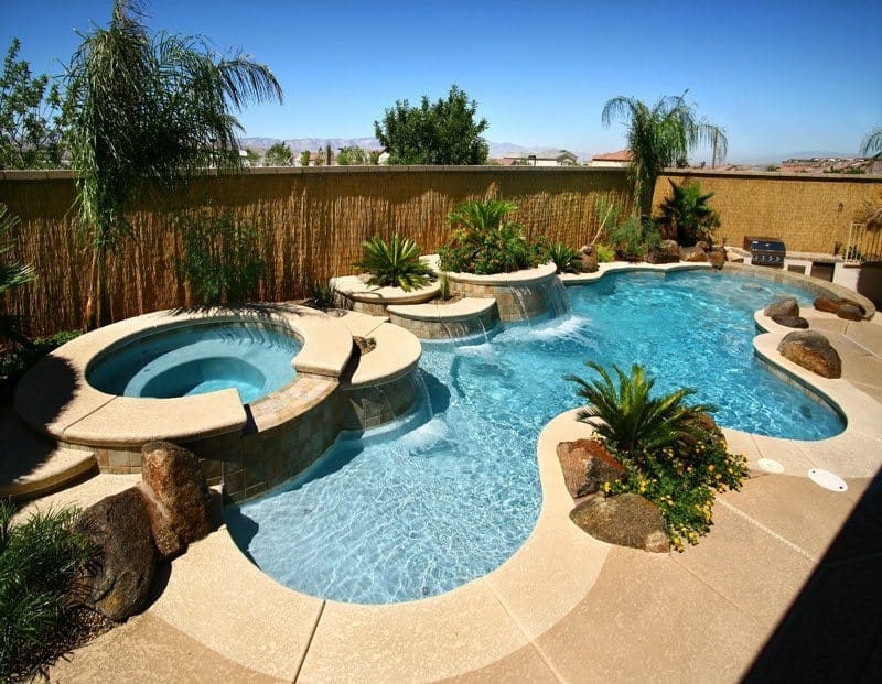 freeform pool design