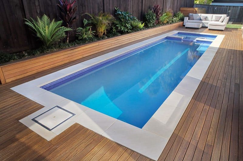 Pool shapes features design options for Plunge pool design